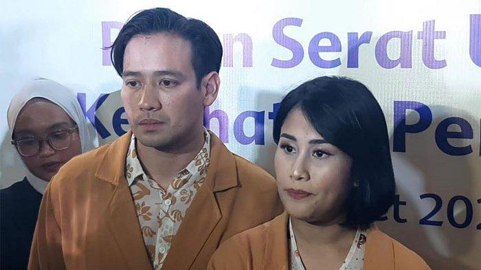Tarra Budiman dan Gya Sadiqah di Jakarta Pusat, Rabu (4/3/2020).