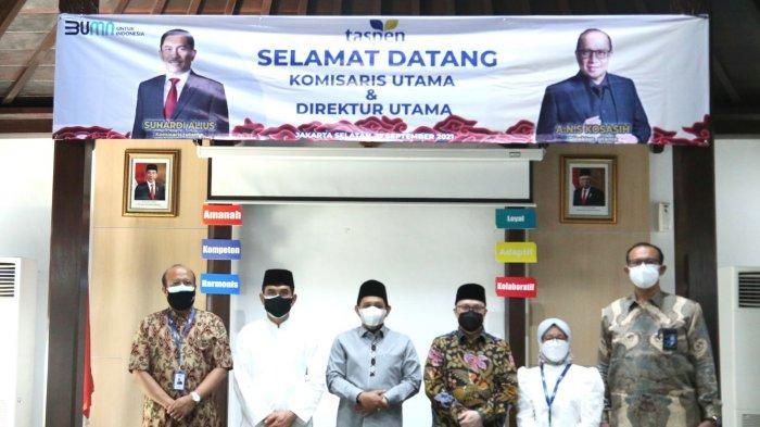 TASPEN Berikan Bantuan Kepada Yayasan Yatim Piatu Da'arul Rahman