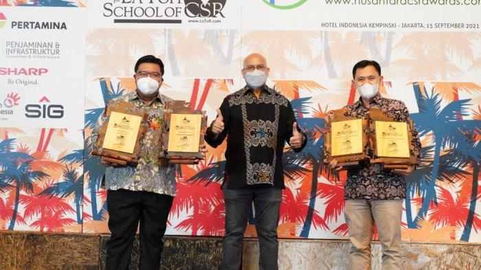 Dukung Program Pembangunan Berkelanjutan, TASPEN Raih 4 Penghargaan Nusantara CSR Awards 2021