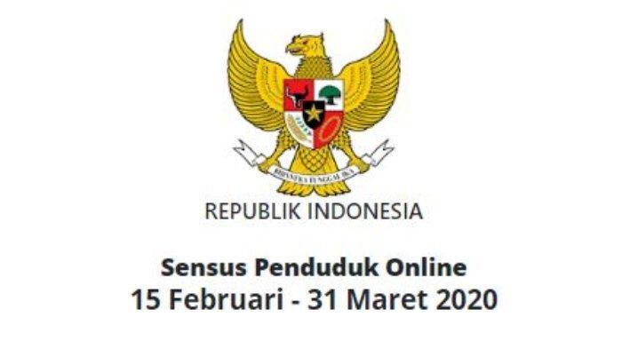 Sensus Penduduk Online 2020 di Link sensus.bps.go.id