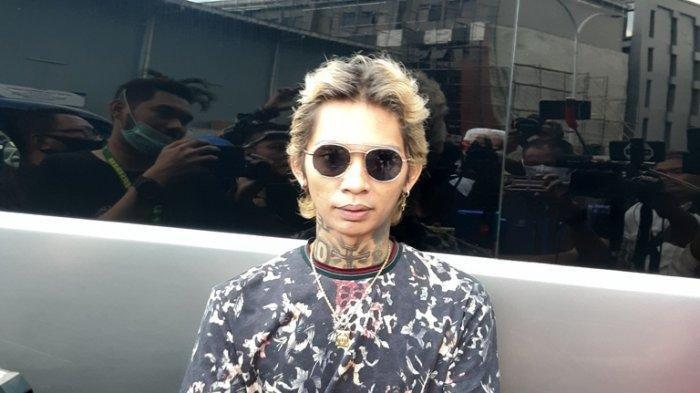 Young Lex ketika ditemui di gedung Trans TV, Jalan Kapten Tendean, Mampang Prapatan, Jakarta Selatan, Rabu (3/6/2020).
