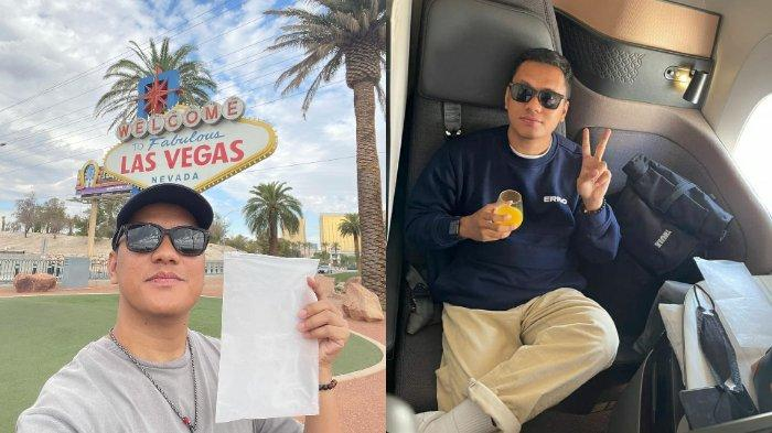 Arief Muhammad Lelang Udara Las Vegas, Putra Siregar Sementara Jadi Penawar Tertinggi