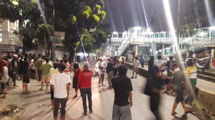 Tawuran Nyaris Pecah Lagi di Pasar Rumput Semalam