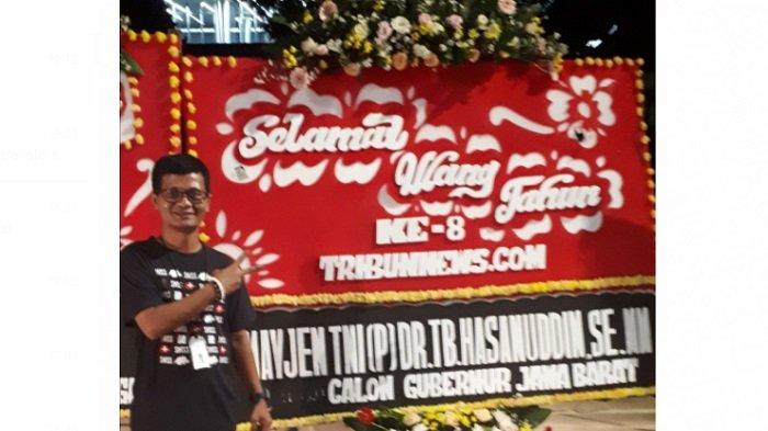 TB Hasanuddin Ucapkan Selamat HUT ke-8 Tribunnews.com