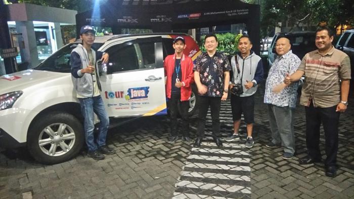 Bebek Sinjay Sambut Kedatangan Tim TDJ Mudik di Surabaya