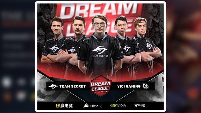 Live Streaming The Leipzig Major, Team Secret vs Vici Gaming