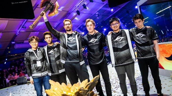 Team Secret Juarai MDL Disneyland Paris Major, Bawa Pulang Hadiah Rp 5 Miliar