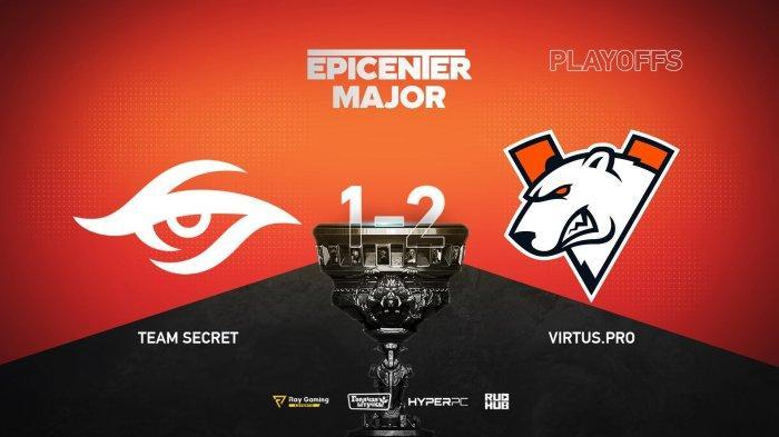 Update EPICENTER Major Dota 2 Babak Main Event Hari Pertama, Team Secret Turun ke Lower Bracket
