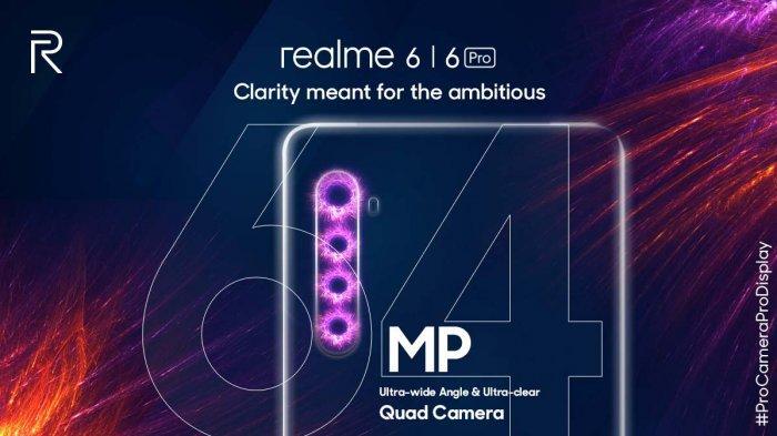 UPDATE Harga HP Realme Maret 2020, Realme 6 Series Rilis 24 Maret 2020 di Indonesia