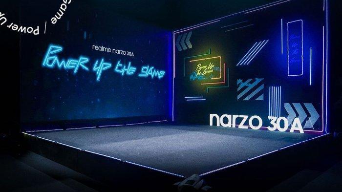 Siap-siap, Realme Petang Ini Luncurkan Ponsel Gaming Terbaru Narzo 30A