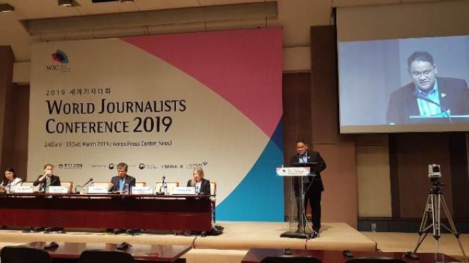 Teguh Santosa di Forum WJC 2019: