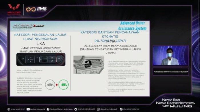 Teknologi ADAS di Wuling Almaz RS