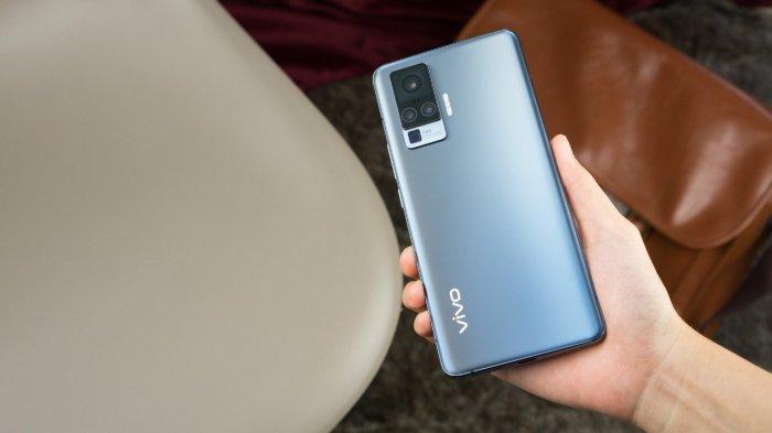 Teknologi Stabilisasi Gimbal pada Vivo X50 series dibekali FPC tipe S ganda dengan ketebalan hanya 0,07mm. (IST)