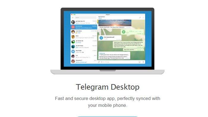 2 Cara Menggunakan Telegram Di Laptop Akses Web Telegram Org Atau Download Di Desktop Telegram Org Halaman 2 Tribunnews Com Mobile