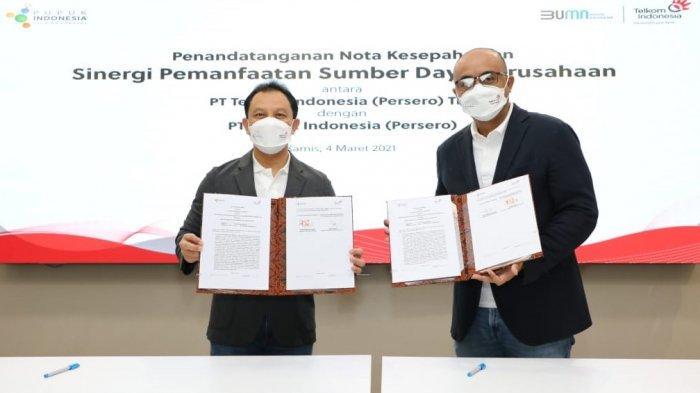 Telkom dan Pupuk Indonesia Bersinergi Perkuat Ketahanan Pangan Nasional