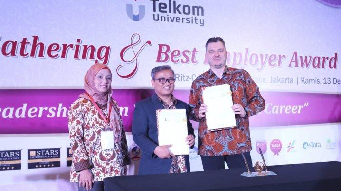 Telkom University Gandeng Telkomtelstra untuk Tingkatkan Kualitas Mahasiswa