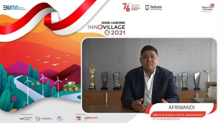 Telkom Gelar InnoVillage 2021 Sebagai Upaya Lahirkan Sociopreneur Muda Indonesia