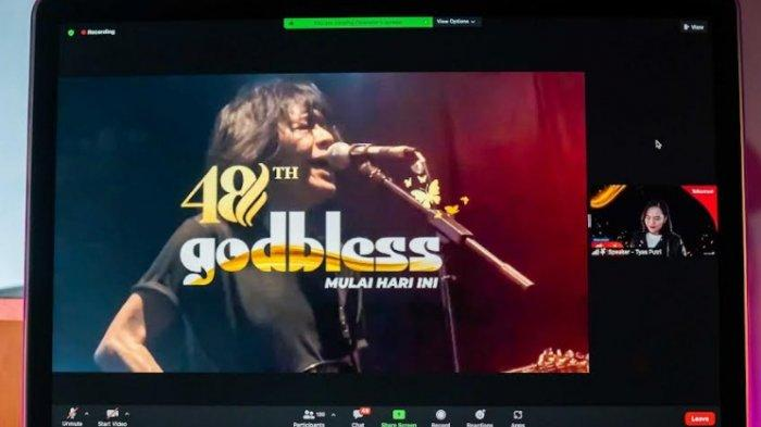 Dukung Industri Musik Indonesia di Tengah Pandemi, Telkomsel Gelar Konser Godbless secara Virtual