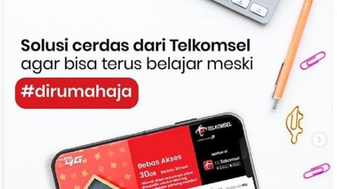 Cara Aktifkan Paket Internet Telkomsel CloudX 30GB Cukup Bayar Rp 10