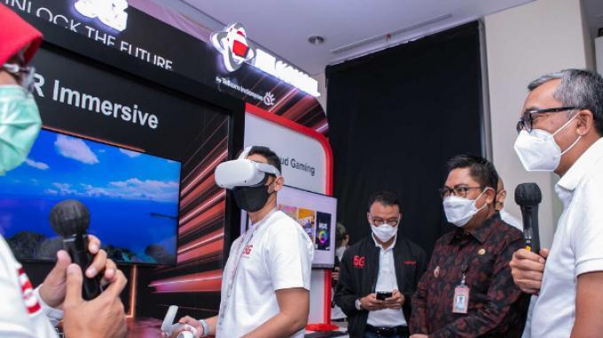 Telkomsel Lanjutkan Peluncuran 5G Serentak di Lima Kota