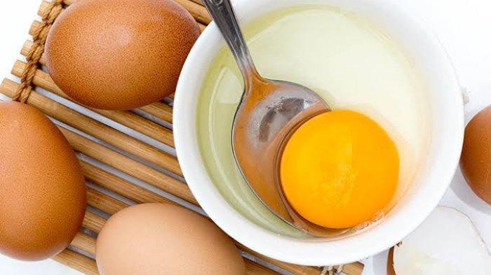 Gunakan telur sebagai bahan alami atasi permasalahan kulit
