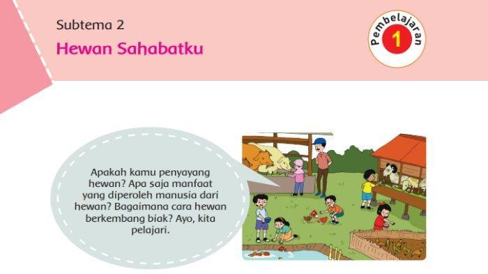 KUNCI JAWABAN Tema 1 Kelas 6 SD Buku Tematik Halaman 63 64 66 71 72 Subtema 2 Pembelajaran 1
