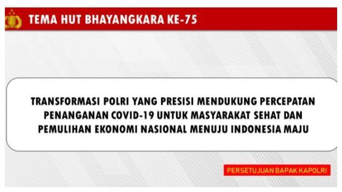 Pesan Legislator Golkar di HUT ke-75 Bhayangkara:Terus Bantu Pemerintah Memutus Penyebaran Covid-19
