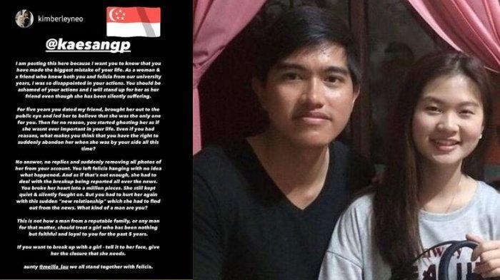 Teman Felicia Tissue Ungkap Kekecewaan pada Kaesang Pangarep: Anda Pria Macam Apa?