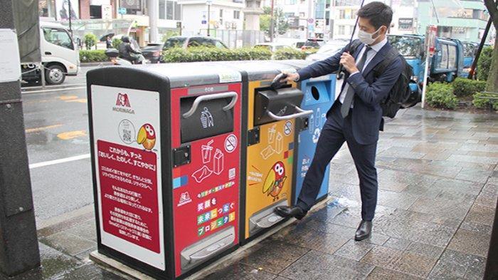Tempat Sampah Cantik Jepang Makin Indah dan Bersih, Irit Waktu, Tenaga dan Biaya
