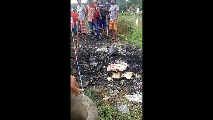 Mayat Bayi yang Ditemukan Terbakar di Tumpukan Sampah Diduga Baru Dilahirkan