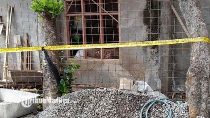 Kuli Bangunan di Kediri Temukan Peluru Mortir, Lokasi Penemuan Langsung Dipasang Police Line