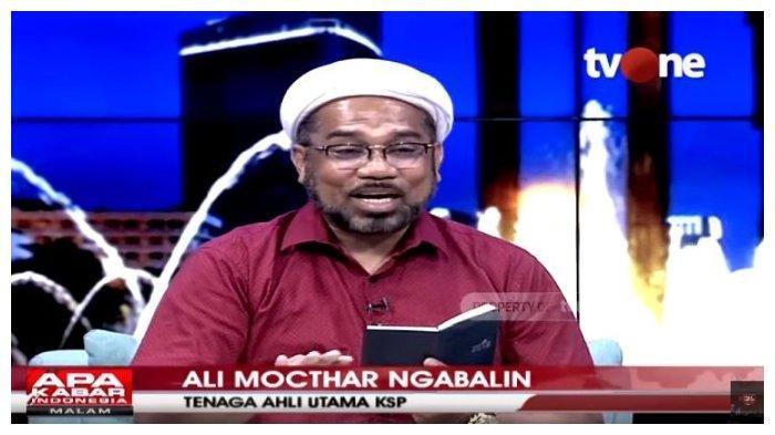 Tenaga Ahli Kepala Staf Kepresidenan, Ali Mochtar Ngabalin, Sabtu (28/3/2020).