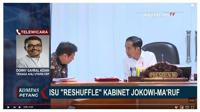 Pendukung Jokowi Sebut akan Ada Reshuffle, KSP Langsung Buka Suara: Terlalu Pendek untuk Disimpulkan