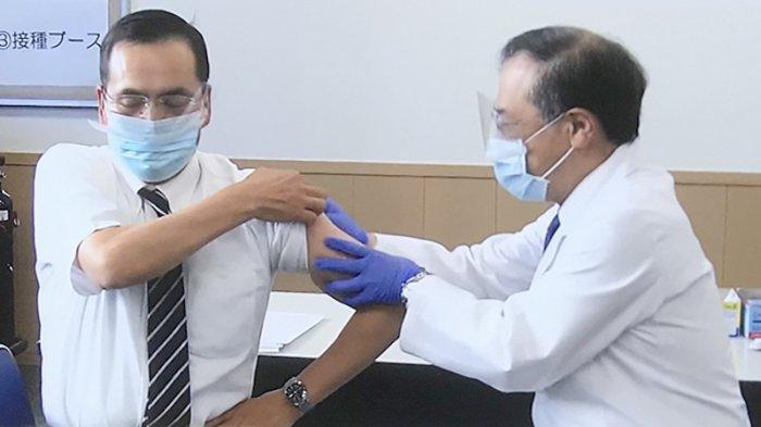 Vaksinasi Pertama di Jepang 125 Orang, Menyusul di 100 Rumah Sakit Bagi 40.000 Tenaga Medis