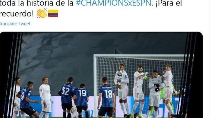 VIDEO Taktik Unik Freekick Atalanta, Tembok Bergerak Halangi Pandangan Kiper Real Madrid