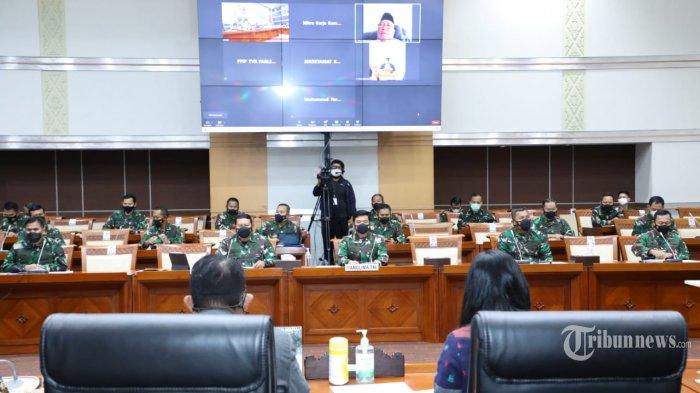Rapat dengan Komisi I DPR, KSAL Beberkan Kronologi Tenggelamnya KRI Nanggala Hingga Kelaikannya