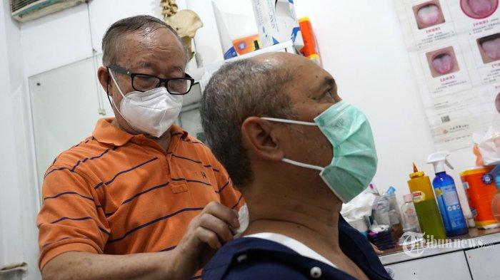 Terapi Tusuk Jarum Ko Amuk, Saraf Kejepit 8 Tahun Langsung Sembuh
