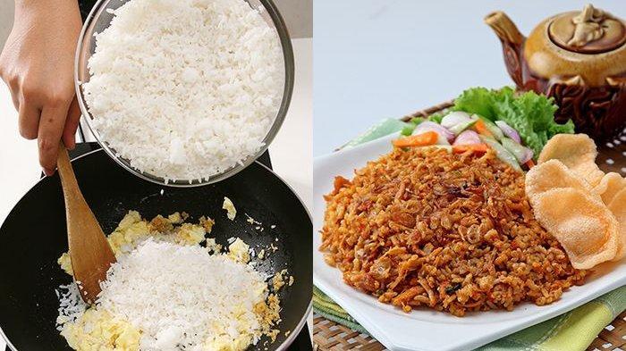 Cara Masak Nasi Goreng Tanpa Minyak, Sudah Pasti Enak dan Jauh Lebih Hemat