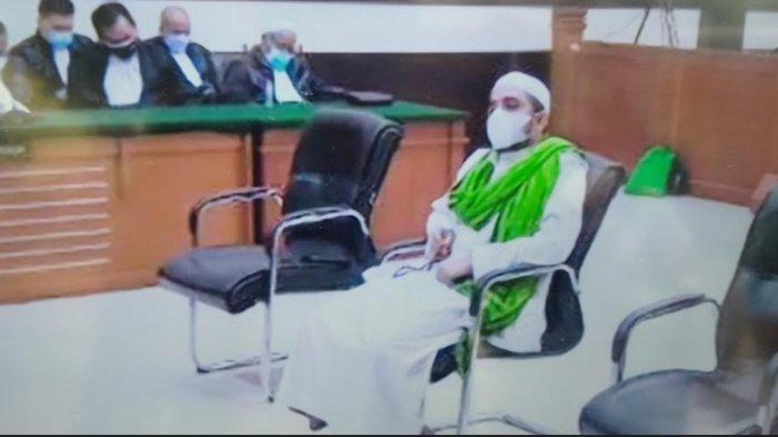Menantu Rizieq Shihab Divonis 1 Tahun Penjara dalam Perkara Hasil Swab Test RS UMMI