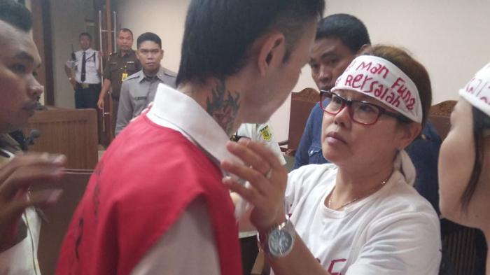 Anaknya Dituntut Hukuman Mati, WN Hong Kong Pemilik 520 Ribu Ektasi Ancam Bunuh Diri