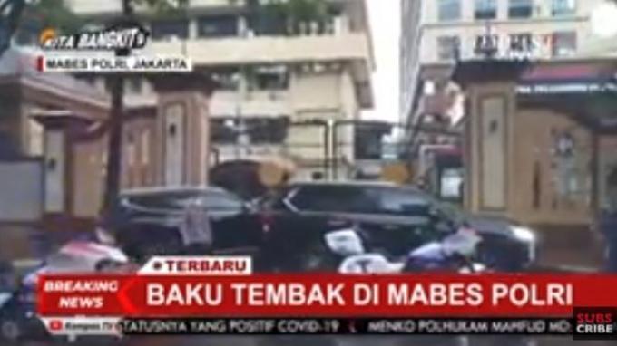 BREAKING NEWS: Terduga Teroris Masuk ke Mabes Polri, Suara Tembakan Terdengar