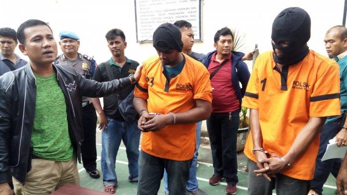 Ini Dua Pengedar Sabu yang Teriaki Polisi Rampok