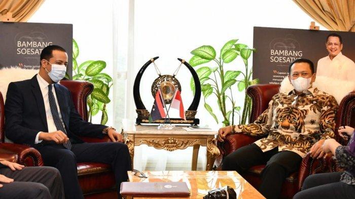 Terima Dubes Libya untuk Indonesia, Bamsoet Dorong Peningkatan Kerjasama Ekonomi