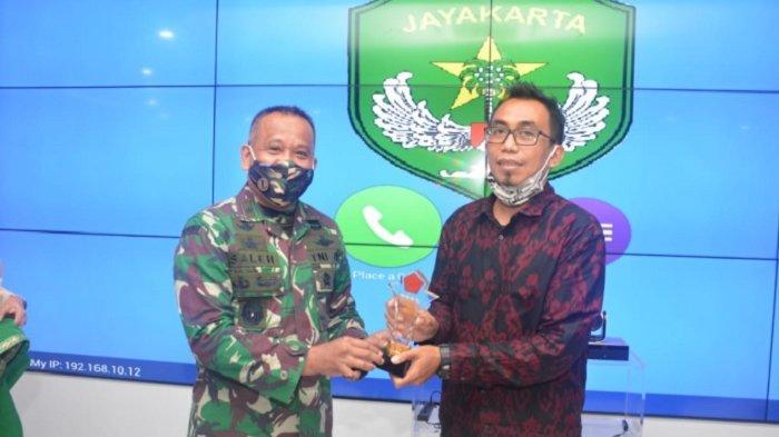 Jurnalis Tribunnews.com Raih Juara II Lomba Jurnalistik Program TNI Manunggal Membangun Desa