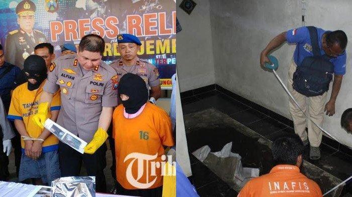 Terkini Mayat Pria Dicor di Bawah Musala, Ternyata Korban Dibunuh Anaknya Pakai Linggis saat Tidur