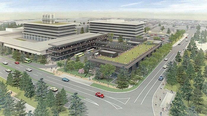 Pembangunan Terminal Bus di Perfektur Nara Jepang Habiskan Dana 4,5 Miliar Yen