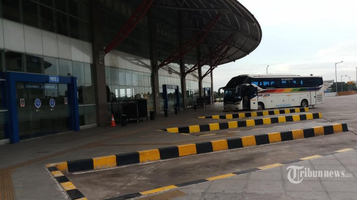 Meski Telah Direlaksasi, Penumpang Bus AKAP yang Berangkat dari Terminal Pulo Gebang Masih Sepi