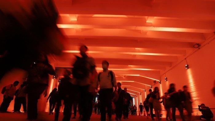 BERITA FOTO: Terowongan Cantik di Jakarta, Spot Ciamik untuk Selfie