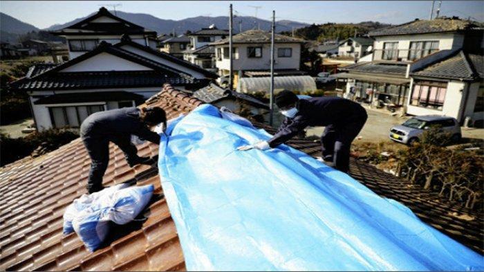 Pemda Fukushima Distribusikan Berbagai Kebutuhan Bagi Warga Terdampak Gempa