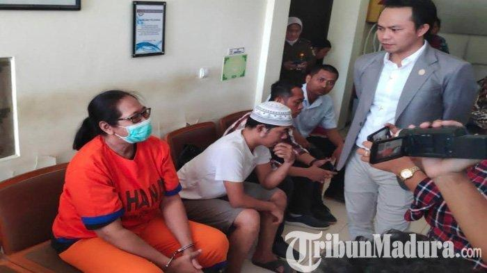 Tri Susanti Tersangka Kasus Kerusuhan Asrama Mahasiswa Papua di Surabaya Kangen Anak-anaknya